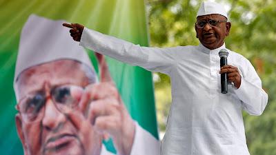 Anna Hazare Started Hunger Strike