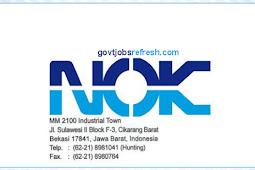 Lowongan Kerja Terbaru PT NOK Indonesia 2018