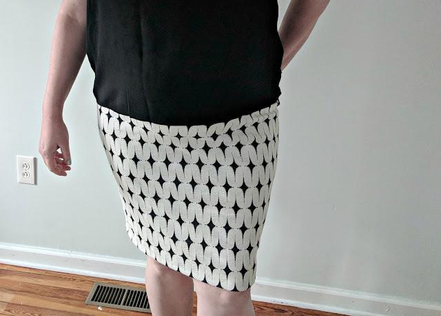 Renee C Leena Printed Skirt