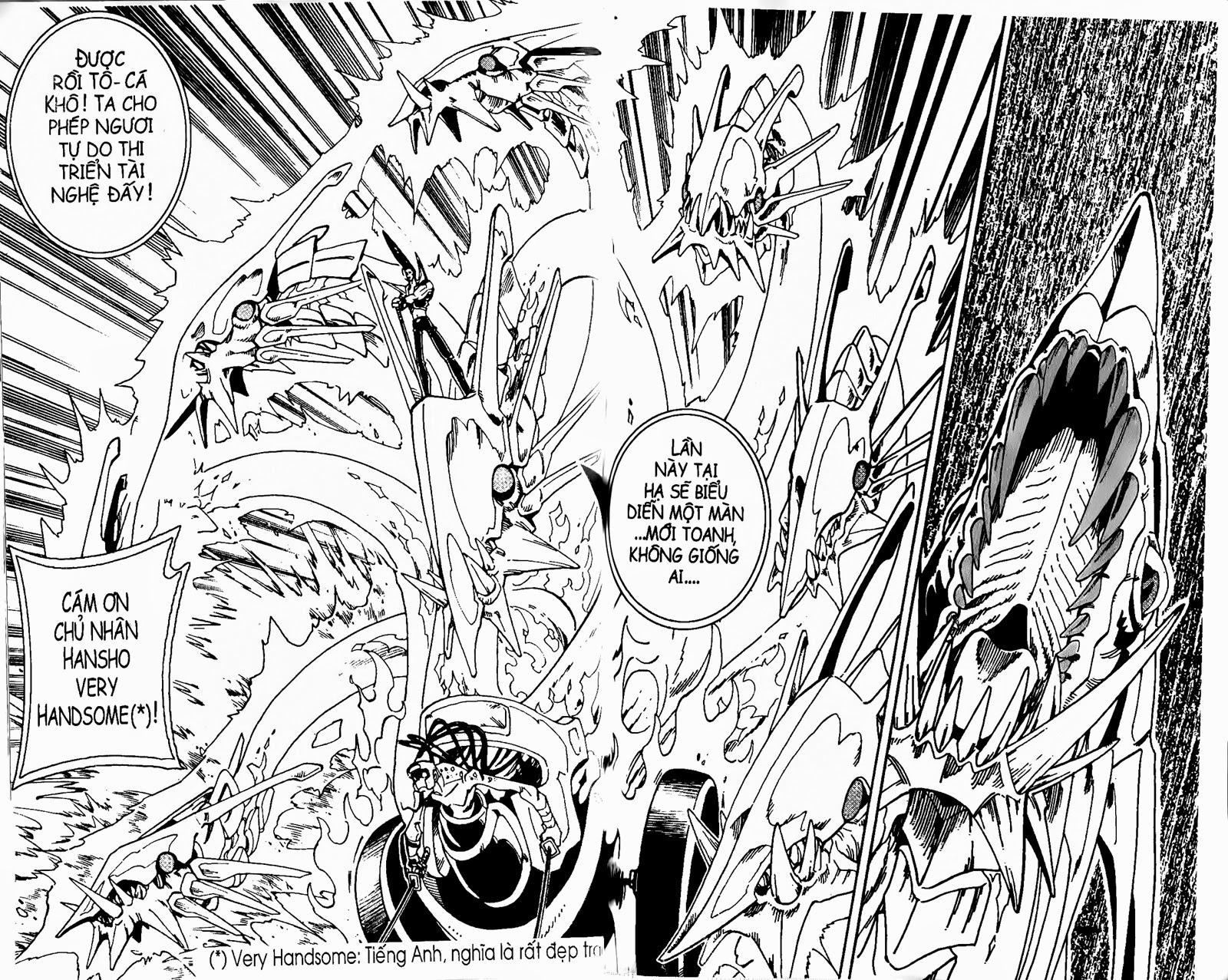 Shaman King [Vua pháp thuật] chap 132 trang 17