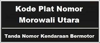 Kode Plat Nomor Kendaraan Morowali Utara