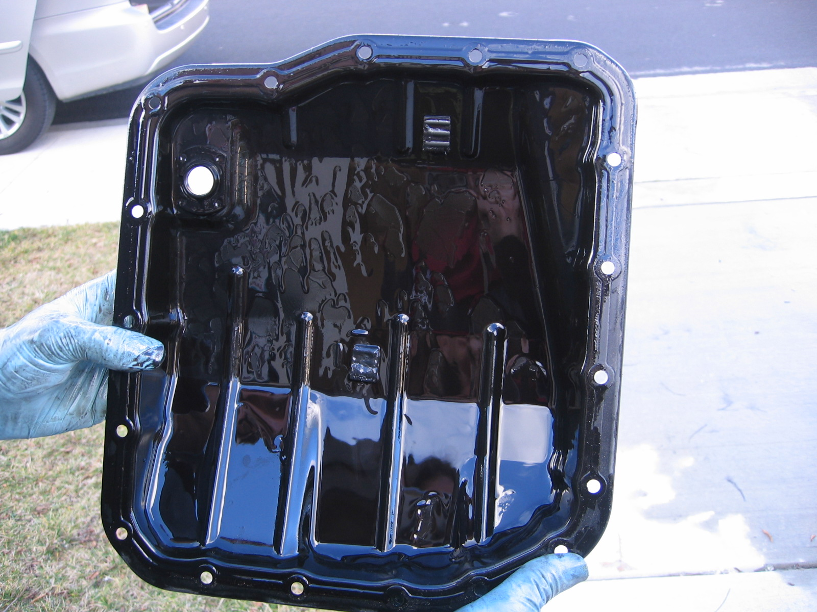 Nitroblue Investment: 2008 Sienna Transmission Fluid and
