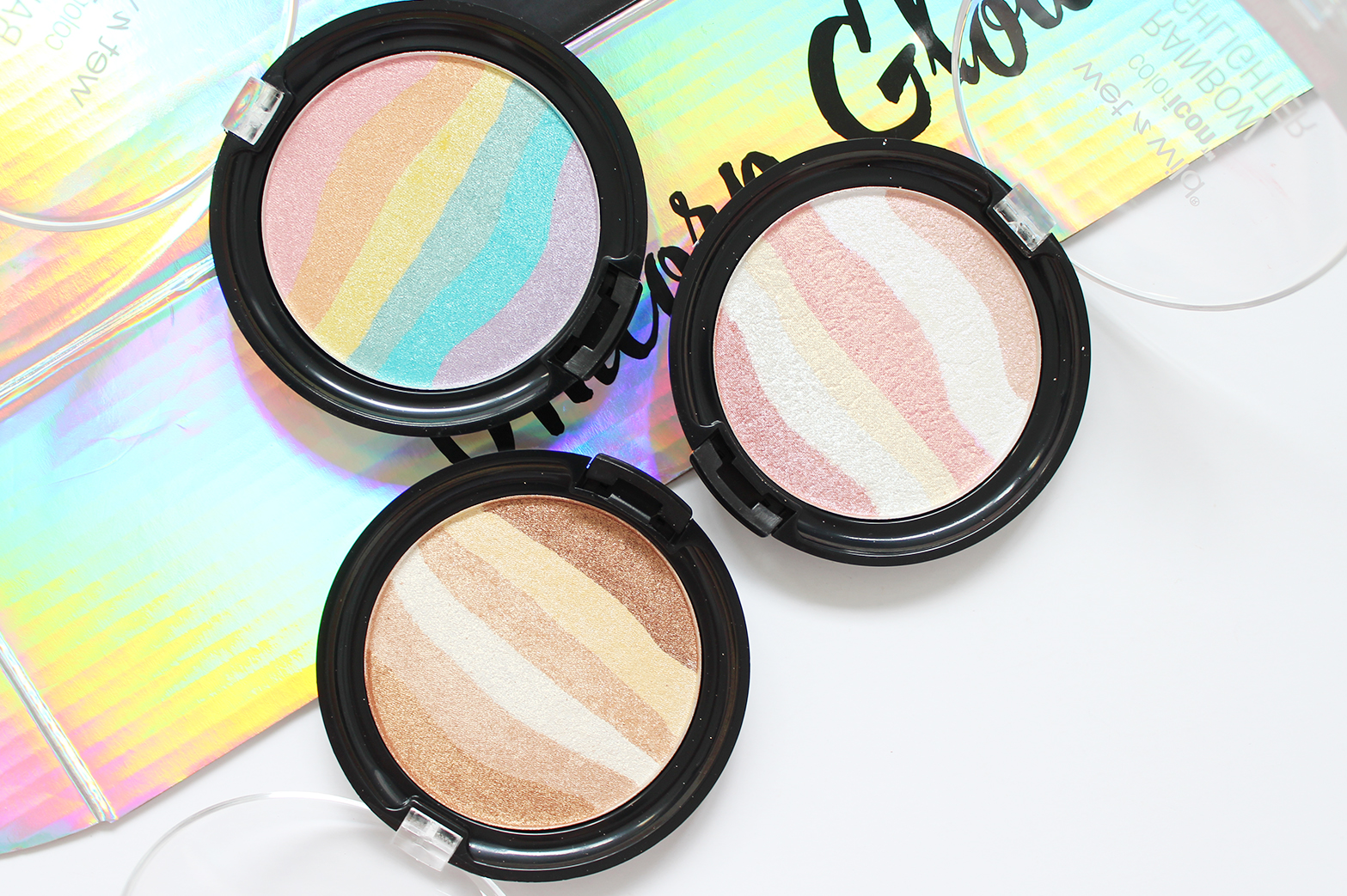 WET N WILD | Limited Edition Unicorn Glow Collection - Swatches - CassandraMyee