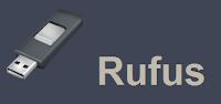rufus boot dari usb