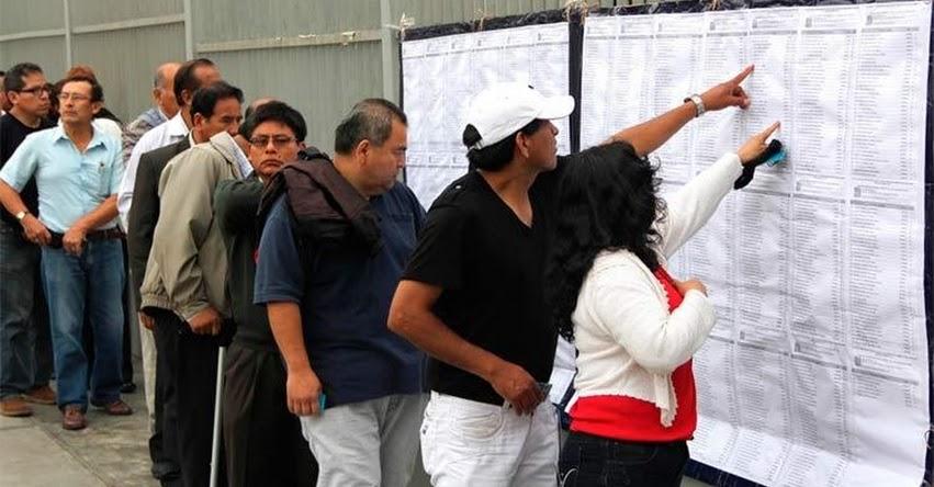 MINEDU: Más de 100 mil docentes rendirán este domingo Prueba Única Nacional para Ascenso 2019 (27 Octubre) www.minedu.gob.pe