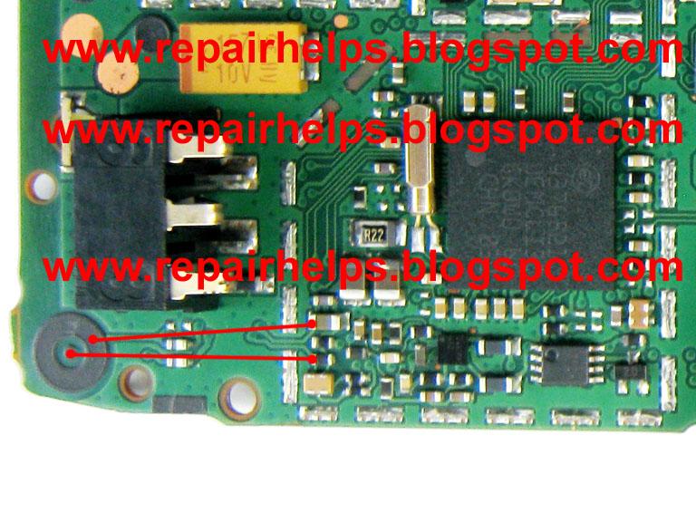 REPAIR HELPS: Nokia 1202 mic solution