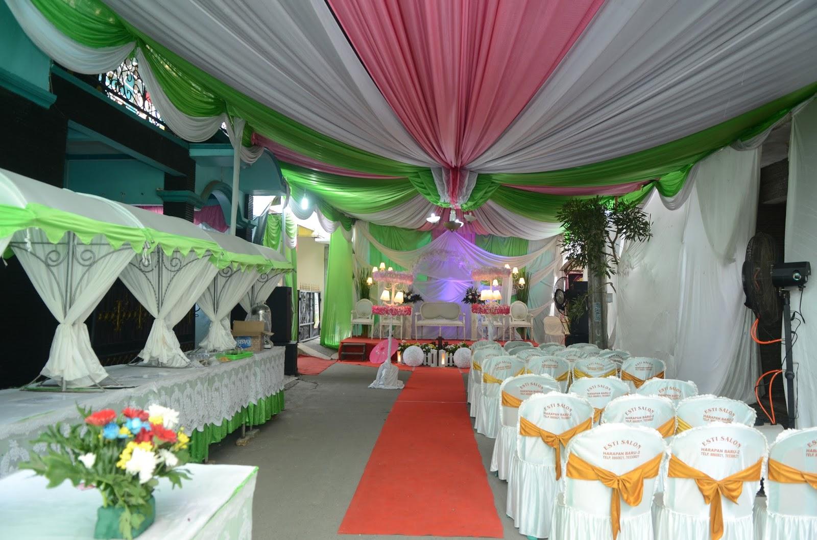 dekorasi tenda di i primera