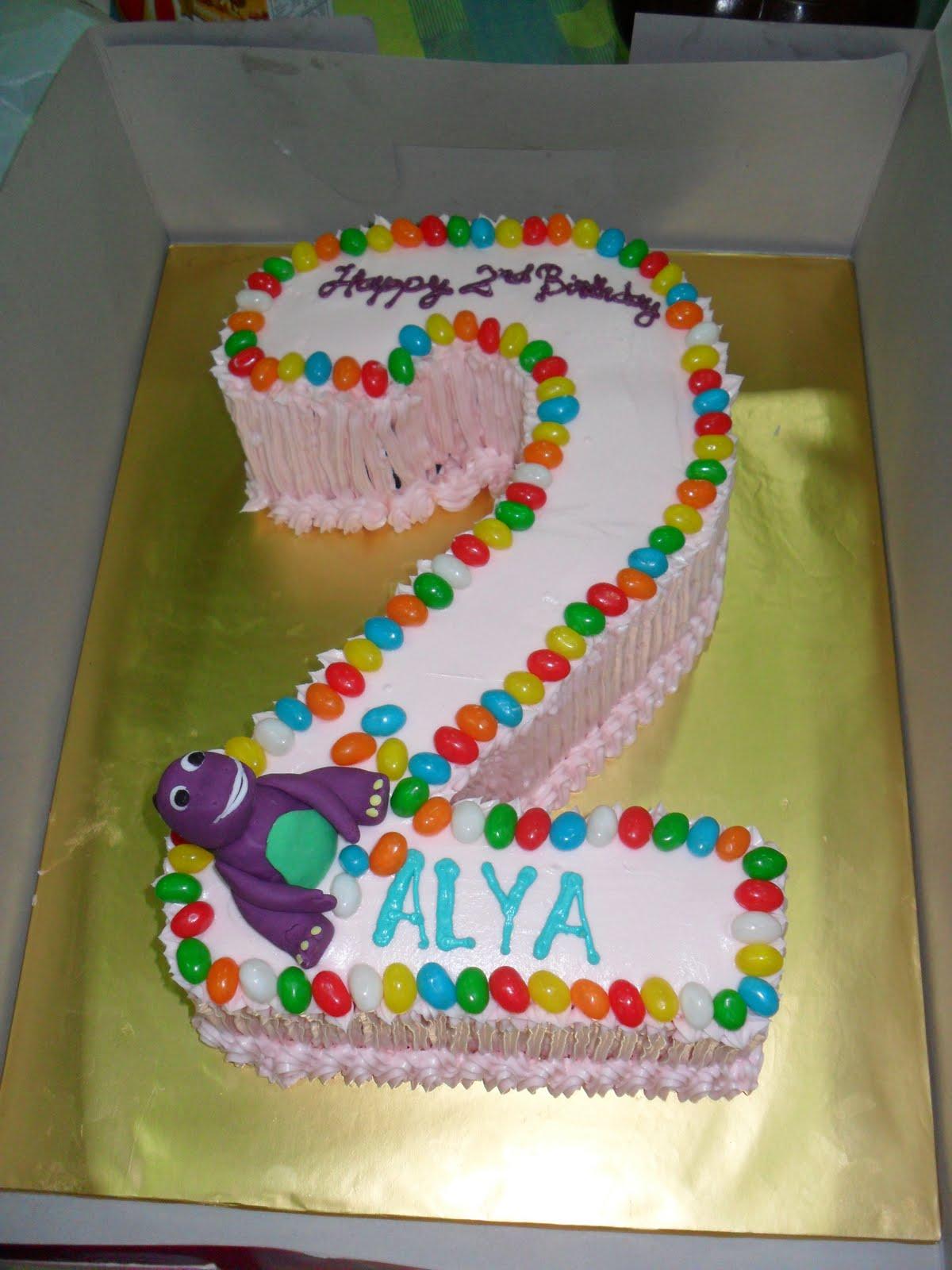 Myheartcupcakes No 2 Birthday Cake