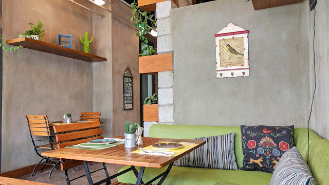 Backyard Restaurant Interiors, Salmiya, Kuwait