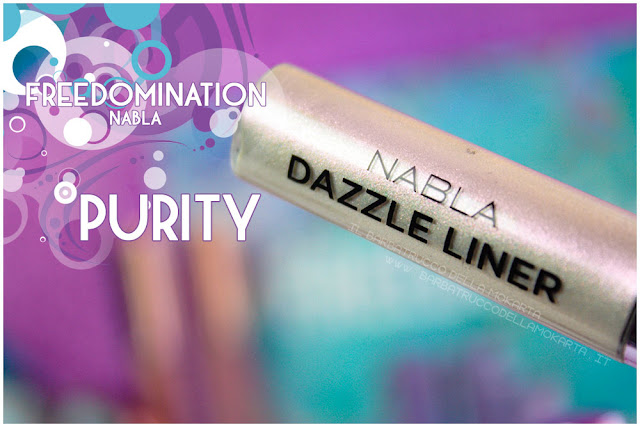 purity dazzle liner nabla cosmetics review freedomination collection summer