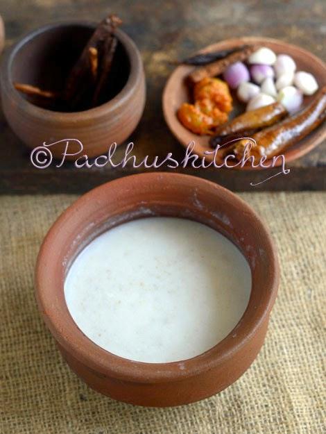 Padhuskitchen Kambu Koozh Recipe Bajra Koozh How To Make