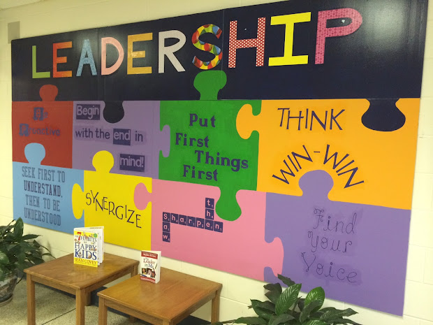 Leader in Me School Bulletin Board Ideas