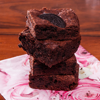 Шоколадово брауни с бисквити Орео