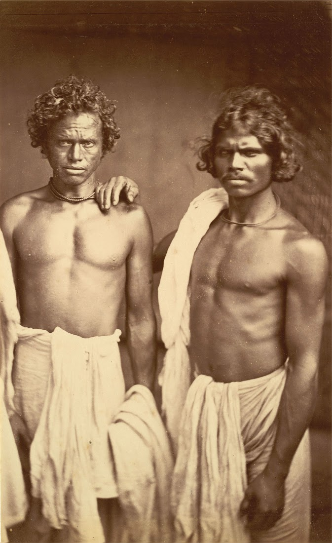 Portrait of Two Indian Males - Eastern Bengal 1860's