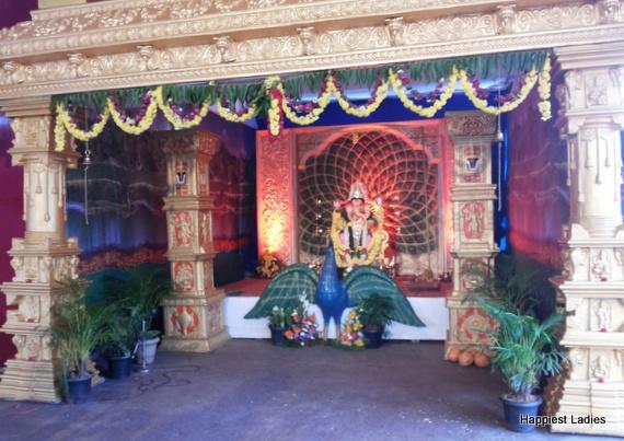 Ganesh Pandal Ambalapady Bypass Udupi 2016