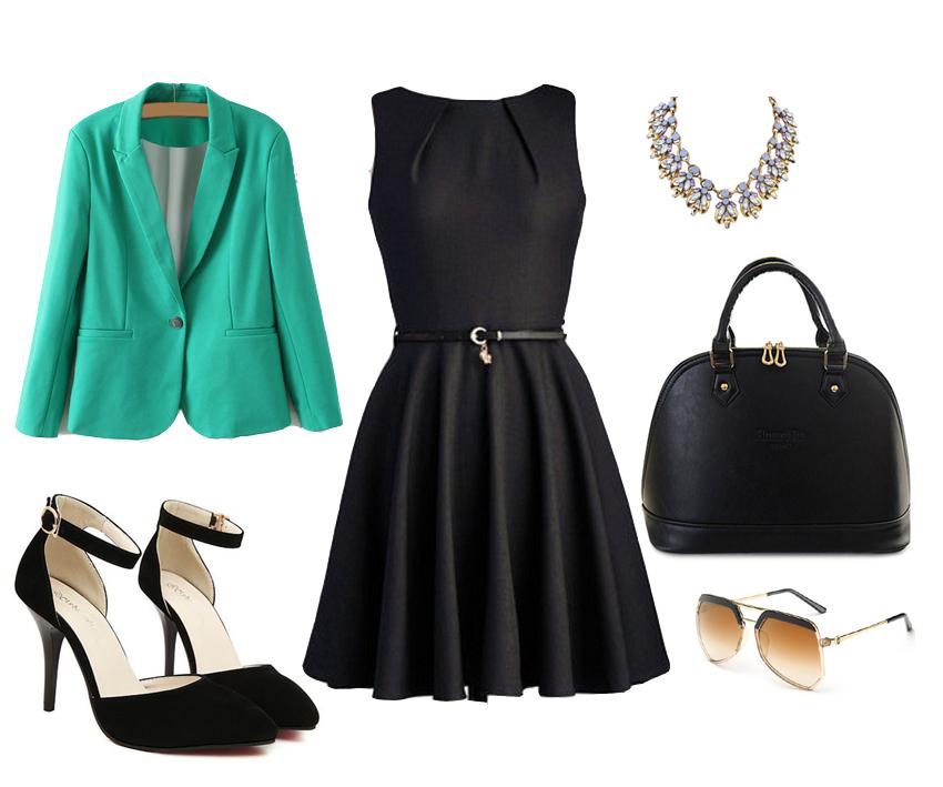Un Vestido Negro 6 Looks Legalmente En Taco 12