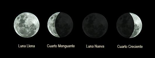 Nexo Cielo Tierra: Cómo influyen las fases lunares en nuestras emociones