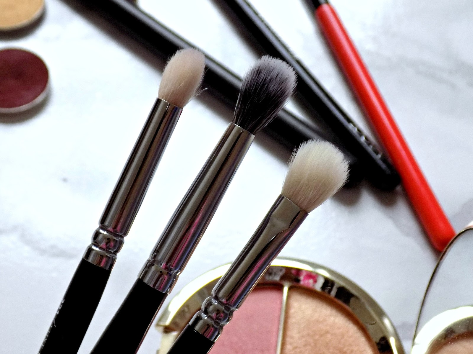 Zoeva eye makeup brushes