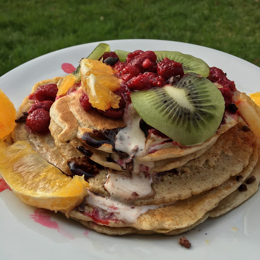 Pancake Day: Guilt-free Super-food Wholemeal, Vanilla & Cinnamon Recipe