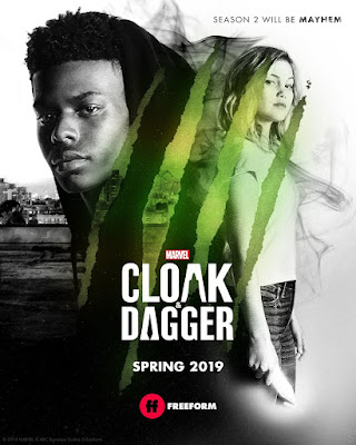 Marvel's Cloak and Dagger Season 2 Television Series Teaser Poster