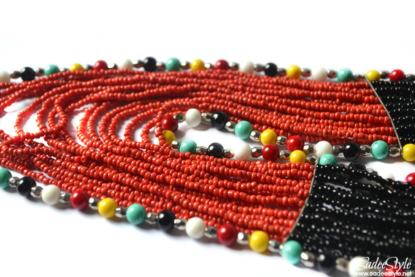 Tribal Love Statement Necklace