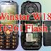 Winstar W18 MT6261 flash file