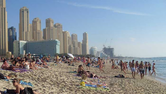 Pantai Jumeirah Beach Dubai