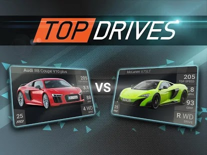 Top drives Apk+Data Free on Android Game Download