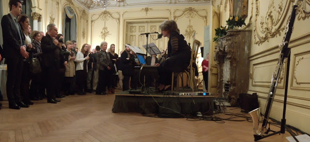Launch of new music::new Ireland at the Irish Embassy, London