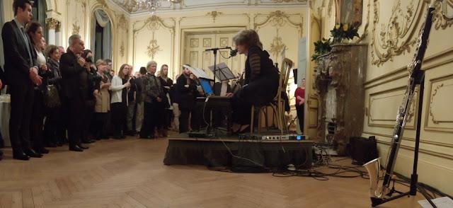 Launch of new music::new Ireland at the Irish Embassy, London