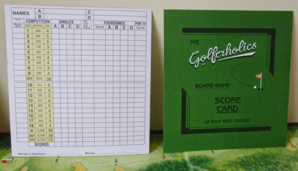 The Golferholics Board Game