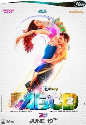 Any Body Can Dance 2 (2015) Hindi DVDRip
