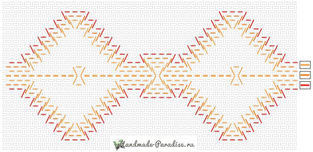 Схемы вышивки для декорирования полотенца (3)