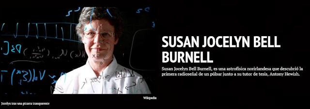 Jocelyn Bell Burnell Línea Temporal