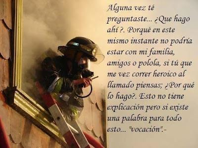 Homenaje a los bomberos