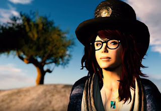 Donna Davis as her Second Life avatar Tredi Felisimo