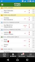 YoAndroideo.com: Mis Marcadores, todo el deporte en directo en tu Android