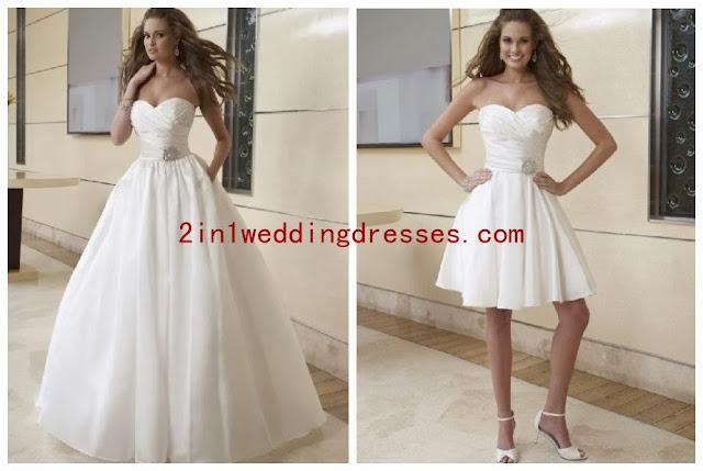 2 IN 1 Wedding Dresses: December 2013