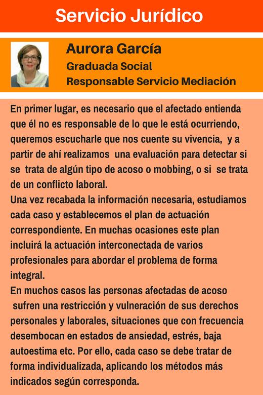 MobbingMadrid Servicio Mediación
