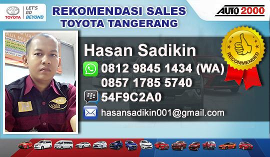Rekomendasi Sales Toyota Cipondoh