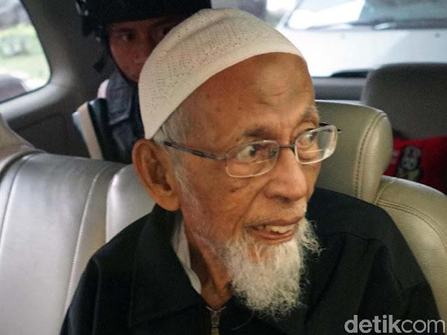 Pembatalan Pembebasan Ustaz Ba'asyir Harus Dijelaskan Terbuka Apakah Karena Tekanan Asing