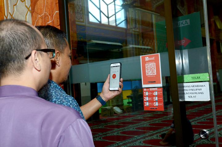 Masjid Al-Falah USJ 9, Masjid Pertama Guna Boost Untuk Kempen SyuQR RHB