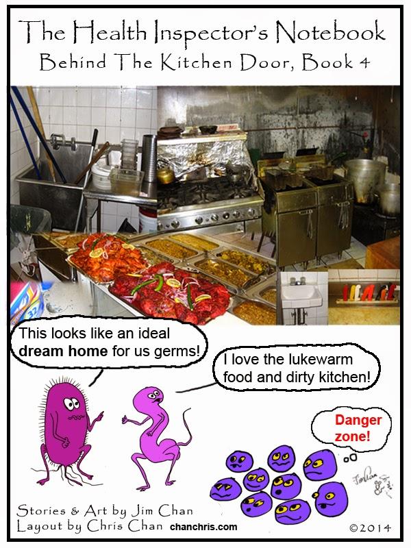 Health Inspector S Notebook Behind The Kitchen Door