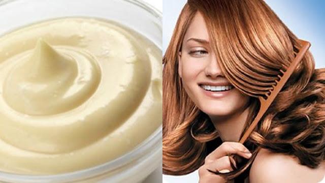 Tratamiento para el cabello casero, pero efectivo