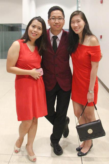 Jenny Calaor, Renz Cheng and Keshia Ong