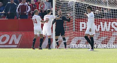Crónica Sevilla FC 1- Girona CF 0