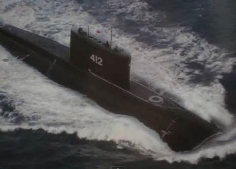 Gambar misteri foto kapal selam Kilo Class 412 milik Militer Indonesia