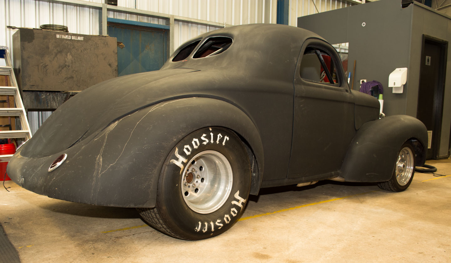 Hodgey's Hot Rods and Customs: '41 Willys Coupe      Dash 2