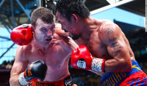Australian boxer, Jeff Horn defeats Manny Pacquiao to claim WBO Welterweight title