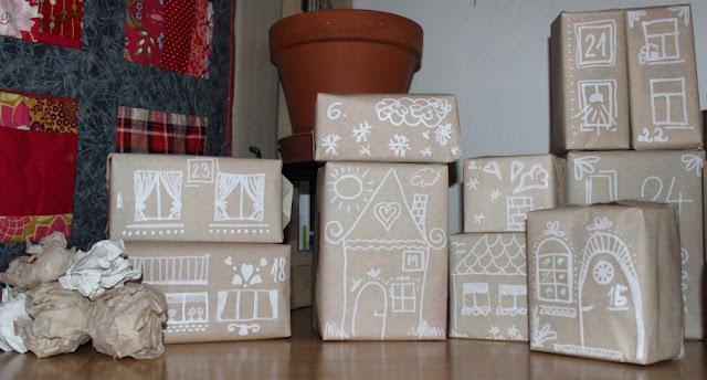 krabičkový adventní kalendář
